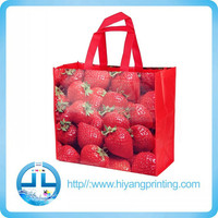 2015 directly factory full color printed pp non woven bag