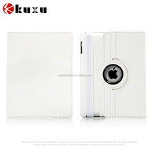 Most popular product hardness standing rotating leather case for iPad 2 3 4