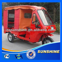 Promotional Fashion 3 wheeler cheap taxi tricycle