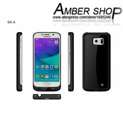 3800mah backup battery case for galaxy S6 Brand New external Battery cases high capacity Power Cover for Galaxy S6