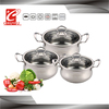 induction professional stainless steel cookware set