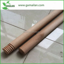 Becaustiful wood pole and rod wood rod for Korea grass broom