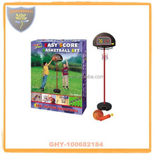 Fashion design wholesale basketball stands with counter for kids