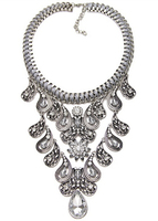 2016 hot Christmas present necklace crystal rhinestone choker necklace N5020
