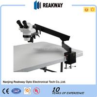 Hot sale High Quality Flex arm Zoom Stereo Microscope/ Engraving Microscope/Stereo Microscope
