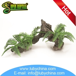 High quality reptile ornaments supplies for reptile decoration