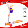 HOT sale kid 4 wheel frog scooter with flashing PU wheel made in china