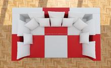 European style home cinema leather arab sofa 206