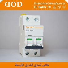 DZ47 CE mark 4.5kA 1P C40 MCB earth-leakage circuit breakers