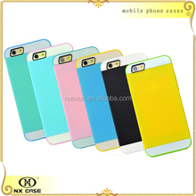 Waterproof protective sublimation mobile phone cover for iPhone 5/5c