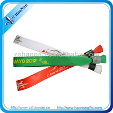 2012 trend screen printing fabric bracelet
