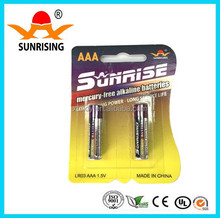 Top quality aaa lr03 am4 alkaline battery