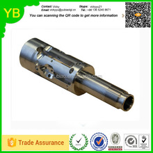 custom Precision cnc auto parts, made of stainless steel, used for electronic components, with RoHS mark