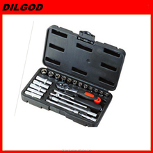 "1/4""DR 23pcs socket set ,socket tool set ,hand tool set"