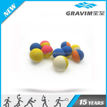 hollow bouncing ball rubber material factory/suppiler,double colors bouncing ball