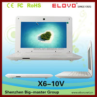 Promotion all kinds of 10.1 inch cheap laptops with built in webcam