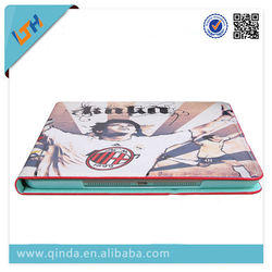 Colored Draw PU Leather Stand Football Star Case For iPad 5 / Case For iPad Air