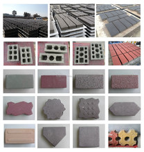 LTQT10-15 Full Automatic Fly Ash Brick Making Machine In India Price