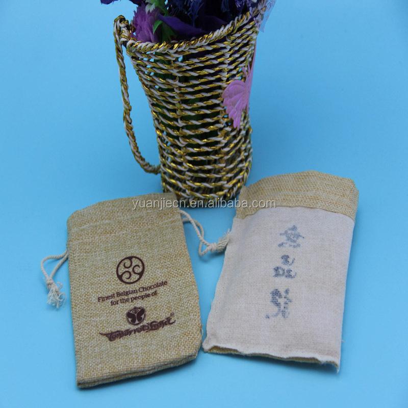 Fashion customized waterproof jute bag