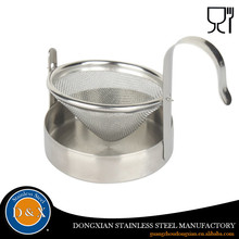 coffee water bottle stainless steel tea strainer with stainless steel handle