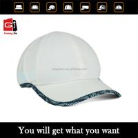 china factory wholesale 6 panel velcro cap,high quality custom promotional cueved brim sport cap