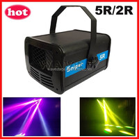 ( WSCN-06) new sniper 5r or 2r laser beam dmx dmx scanner disco party club lighting