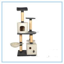 Best selling indoor factory sisal cat tree