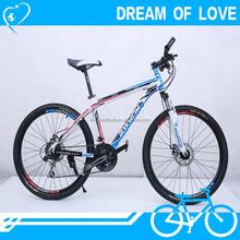 21 speed mountain bike/bicycle sale, aluminum frame bicycle mountain bicycle