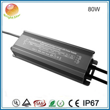 high efficiency 0-10v pwm dimmable led flood light driver 80w 1050ma 2100ma led power supply