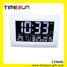Big LED Number Clock, Desktop & Wall Mounted are all available