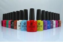 Wholesale 10ml Color Gel for Nail Polish Nail Art Polish/IBN Nail Art Soak off LED/UV one step Gel Nail Polish