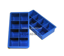 Ice Cube Tray with Lid, FDA Ice Cube Mold, Silicone Ice Cube Tray