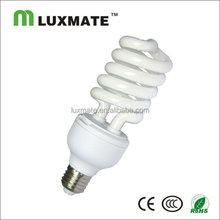 T4 26W e27/e14/b22 half spiral energy save light bulbs china supplier