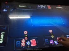 Gambling texas holdem poker game machine,poker table for casino