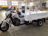 three wheel motorcycle 150/200cc reverse farming truck cargo tricycle