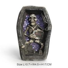 Wholesale resin halloween skull, halloween decoration