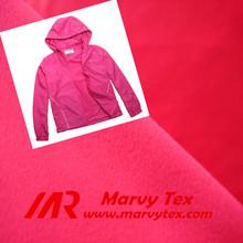 anti pill fleece women suit brushed tricot fabric