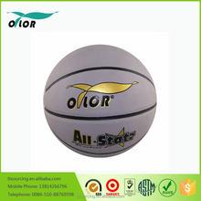 Custom made high quality PU basketball leather ball
