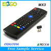 Hot selling b2go mx3 2.4GHZ universal remote control for android tv box