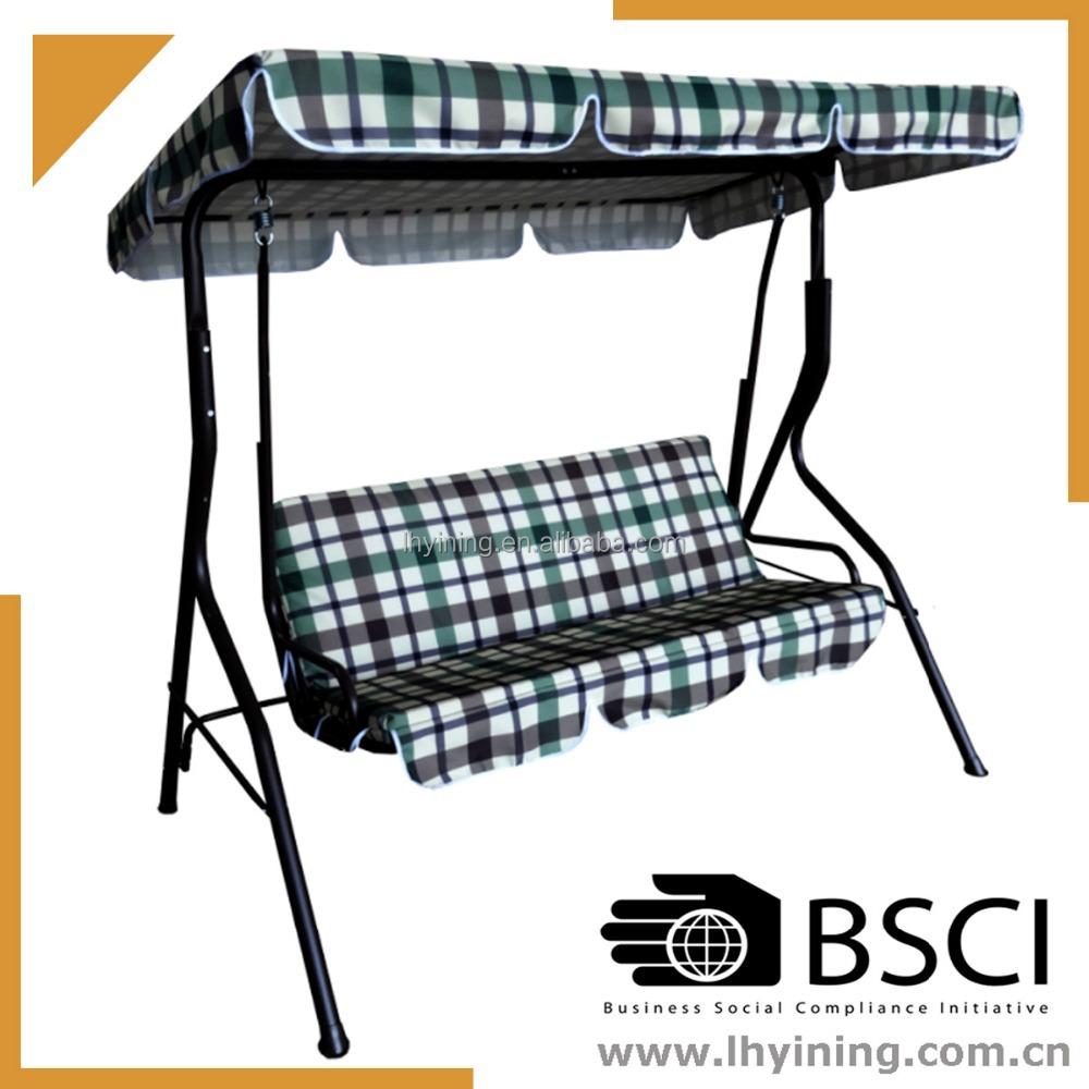 3 seat indoor swing chair patio hanging chair adult swing for Indoor swing seat