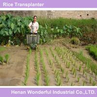 Manual rice transplanter machine