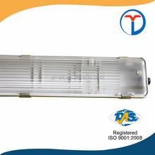 t8 waterproof fluorescent light fixtures ip65 household, factory, office use