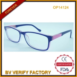 2015 Hot selling CP injection optical frames Nice frame OP14124
