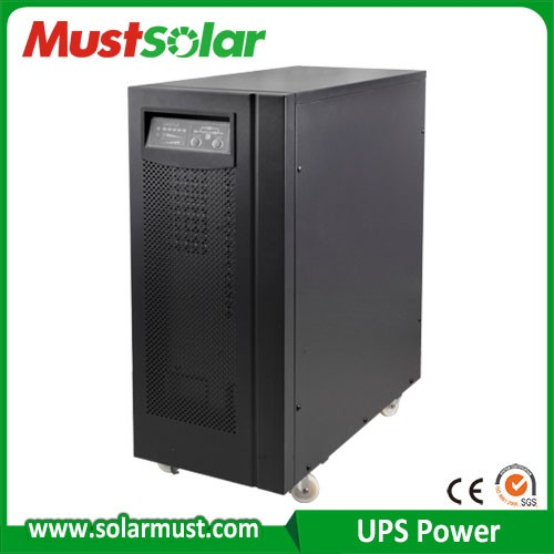 Best UPS manufacturer with ISO14001 and CE certificate 10kva-200kva online UPS with competitive price