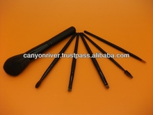 Various type of cosmetic brush set with production sample available