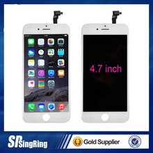 2015 original new full lcd screen for iphone 6 ,wholesale factory price replacement for iphone 6 lcd touch screen digitizer
