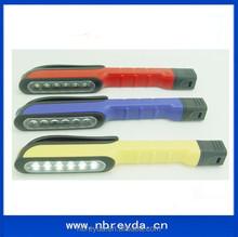 Pen Shape Plastic Led Light with Plastic Clip