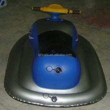 Hot sale inflatable motor boat,PVC inflatable jet ski,fashion design motor ski boat