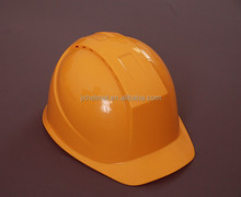 Safety helmet with visor for construction workers