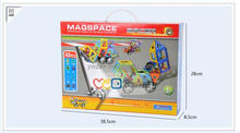 hot sell building blocks toys intelligent development Magformers Rainbow 46 Piece Set games of desire